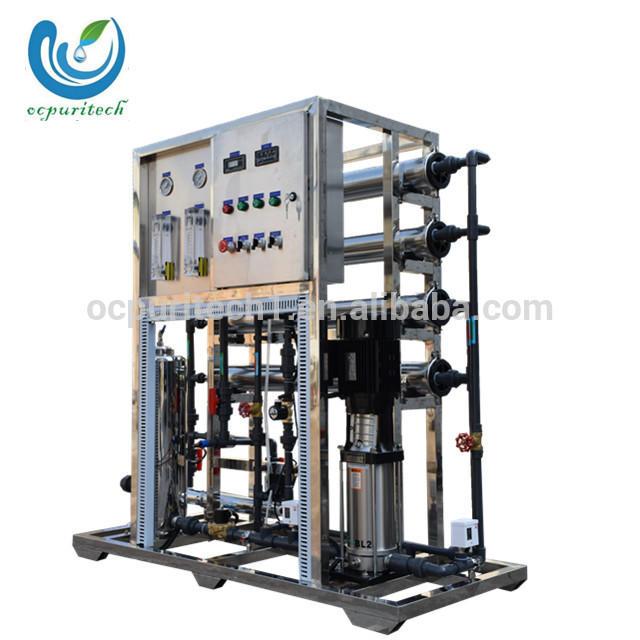 1TPH Reverse Osmosis RO salt water treatment system