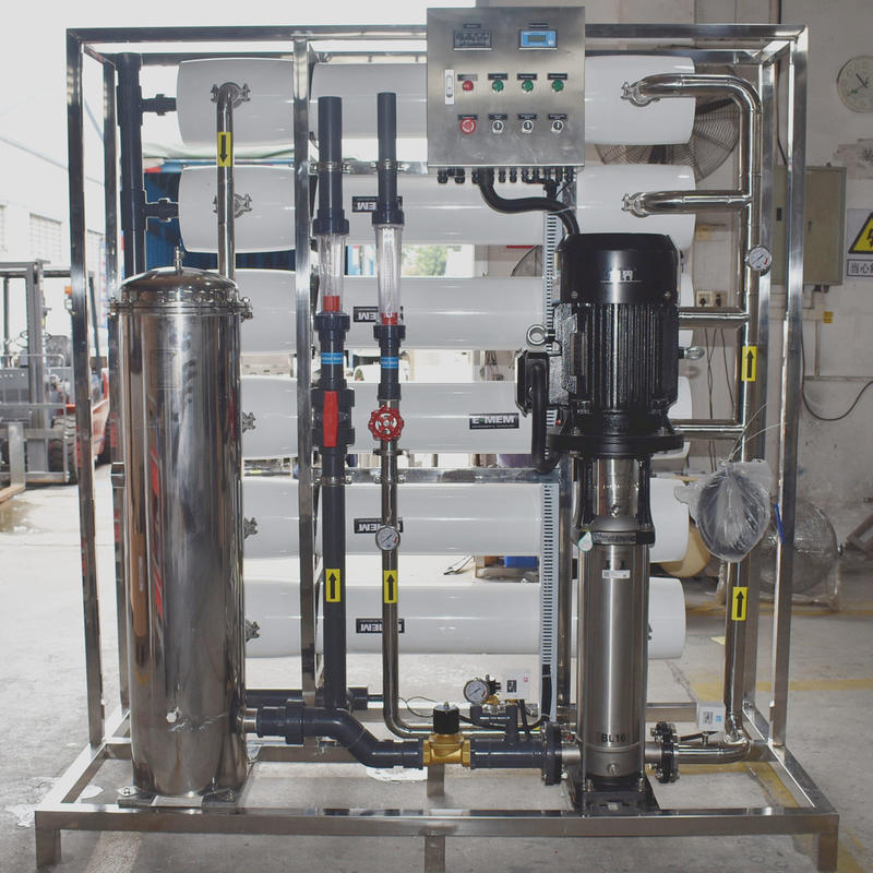 6TPH Industrial RO Water Purification Machine Water Treatment Equipment