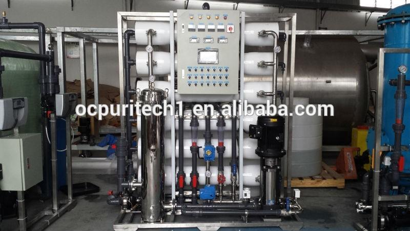 RO system water purifying machine with 6m3.h