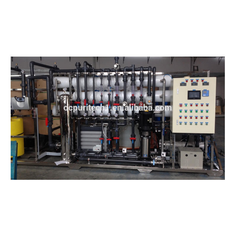 purewster treatment RO+EDI waste water treatment system