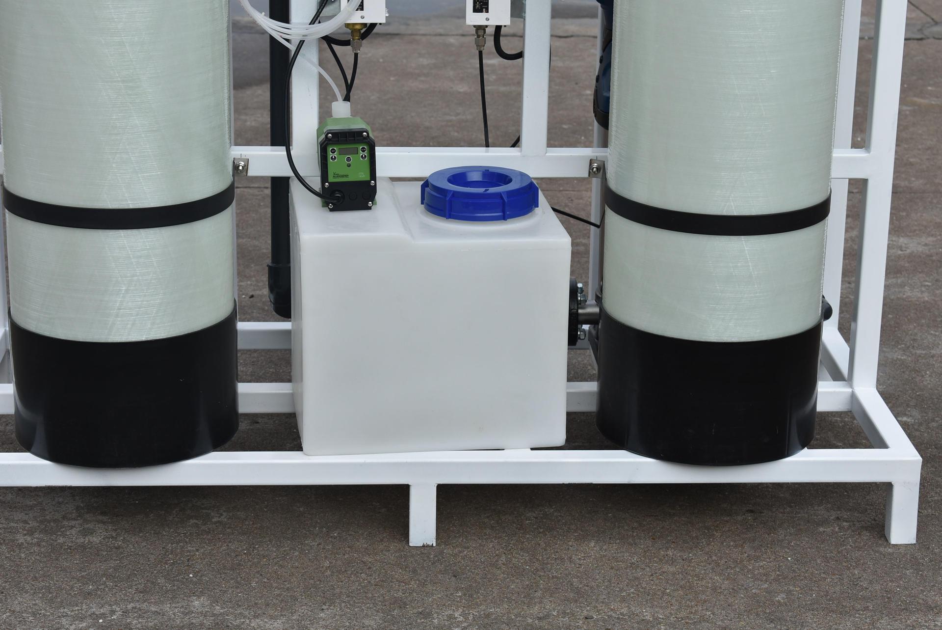 750LPH Reverse Osmosis System Brackish Water RO Plant