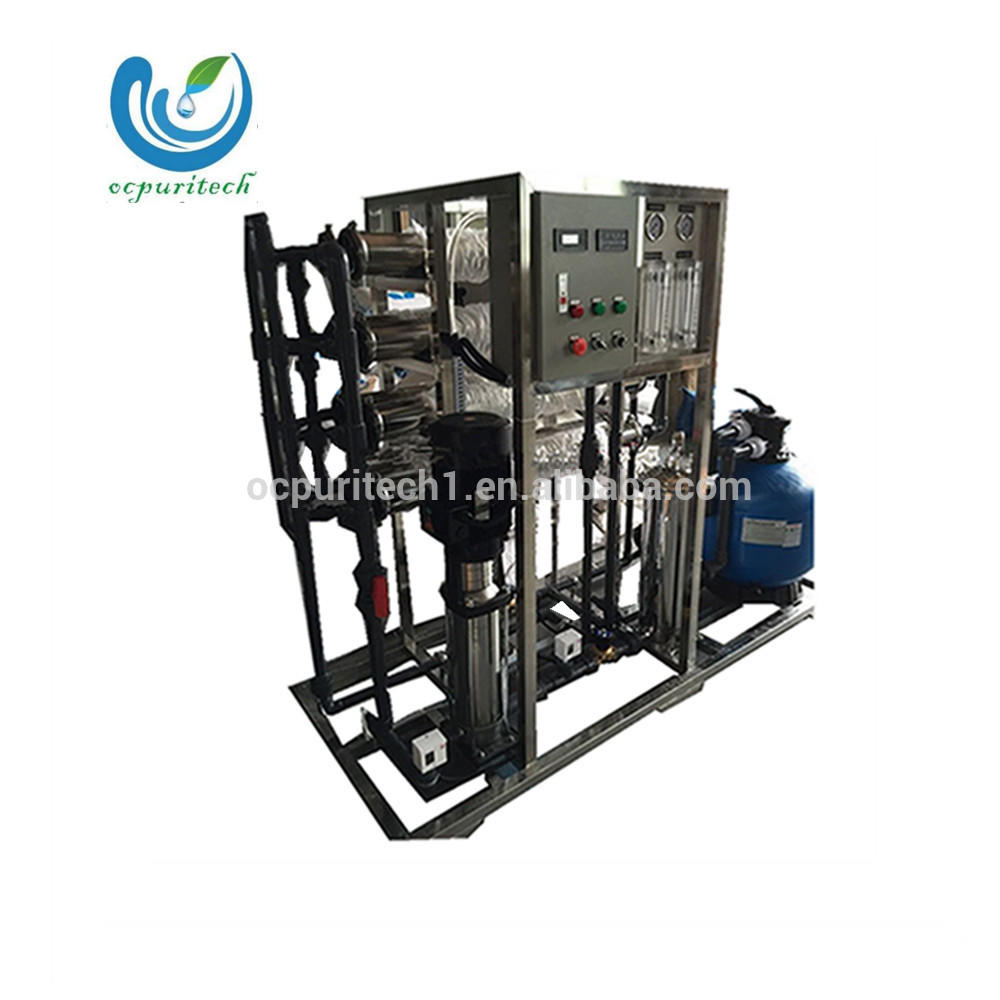 Sand filter reverse osmosis salty water desalination equipment