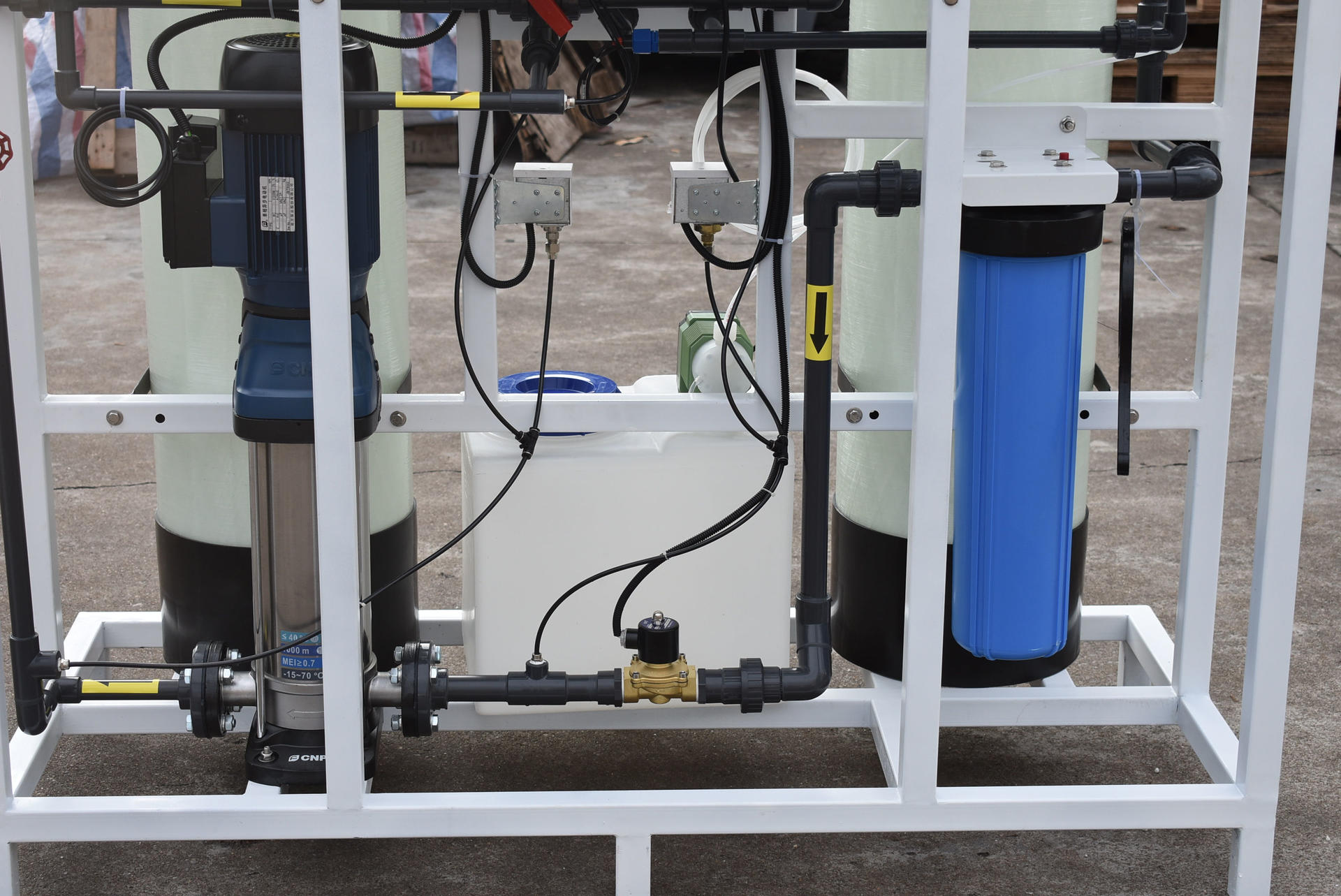 750LPH water drinking brackish reverse osmosis system