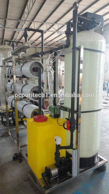 HOT Sale!! 3000L/Hr RO membrane water filter plant and mixed bed deionization machine