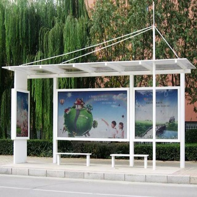 High Quality Bus Stop Shelter Station Prices With Bench