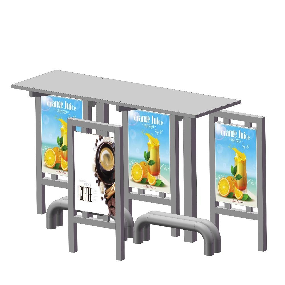 Custom-made Design Bus Stop Shelter Price