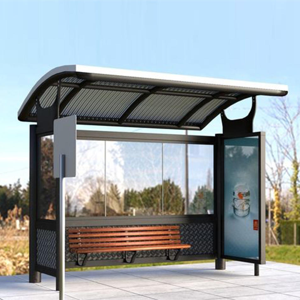 Promotion customized design advertising bus stop