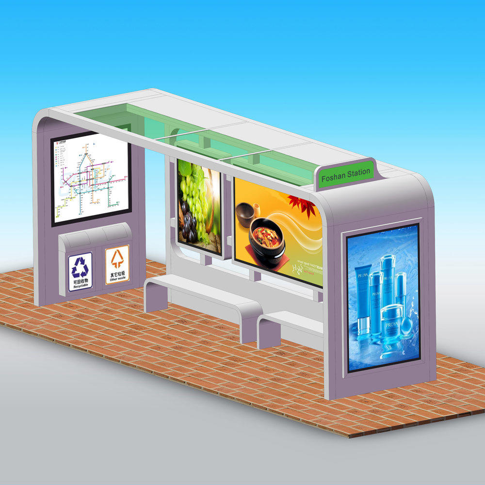 Professional factory high quality bus shelters for sale