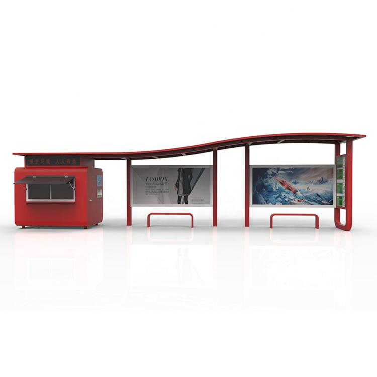 High-quality outdoor bus shelter