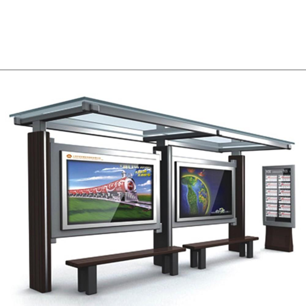 YEROO High Quality Modern Bus Station Shelter