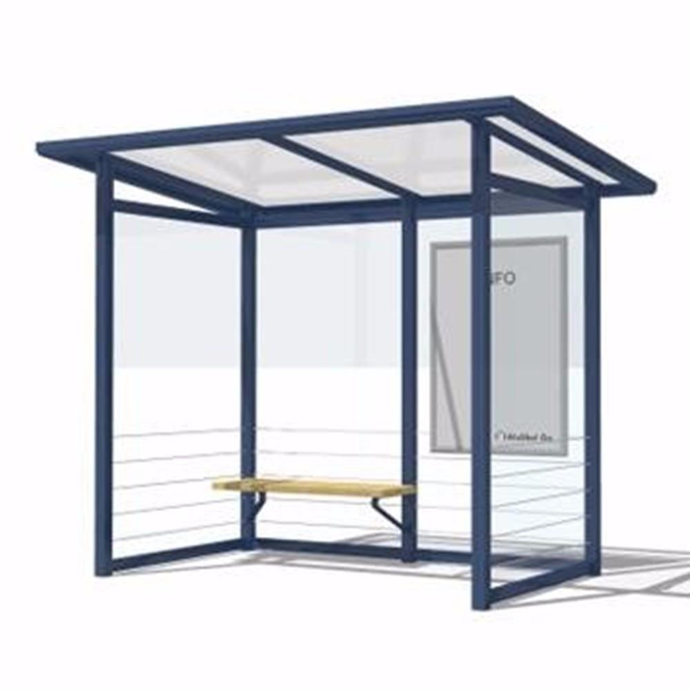 Smart GPS Auto Bus Stop Shelter with Announce Size