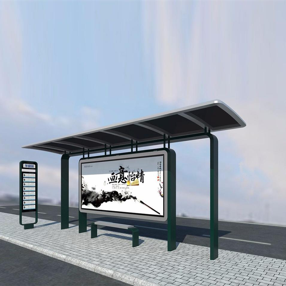 High quality used bus stop design bus shelters for sale