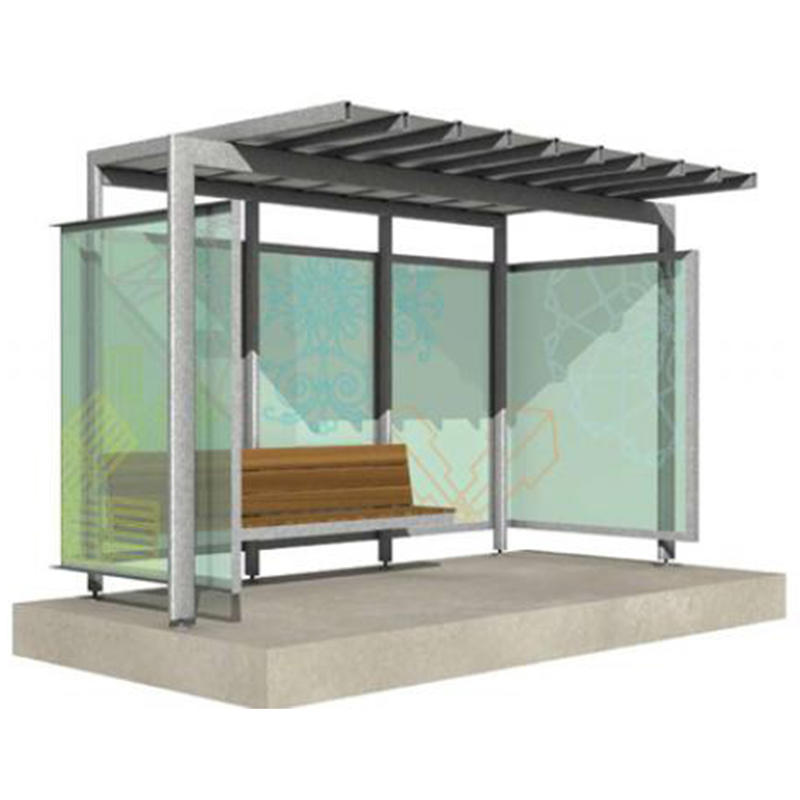 Street Furniture Modern Advertising Light Box Bus Shelter