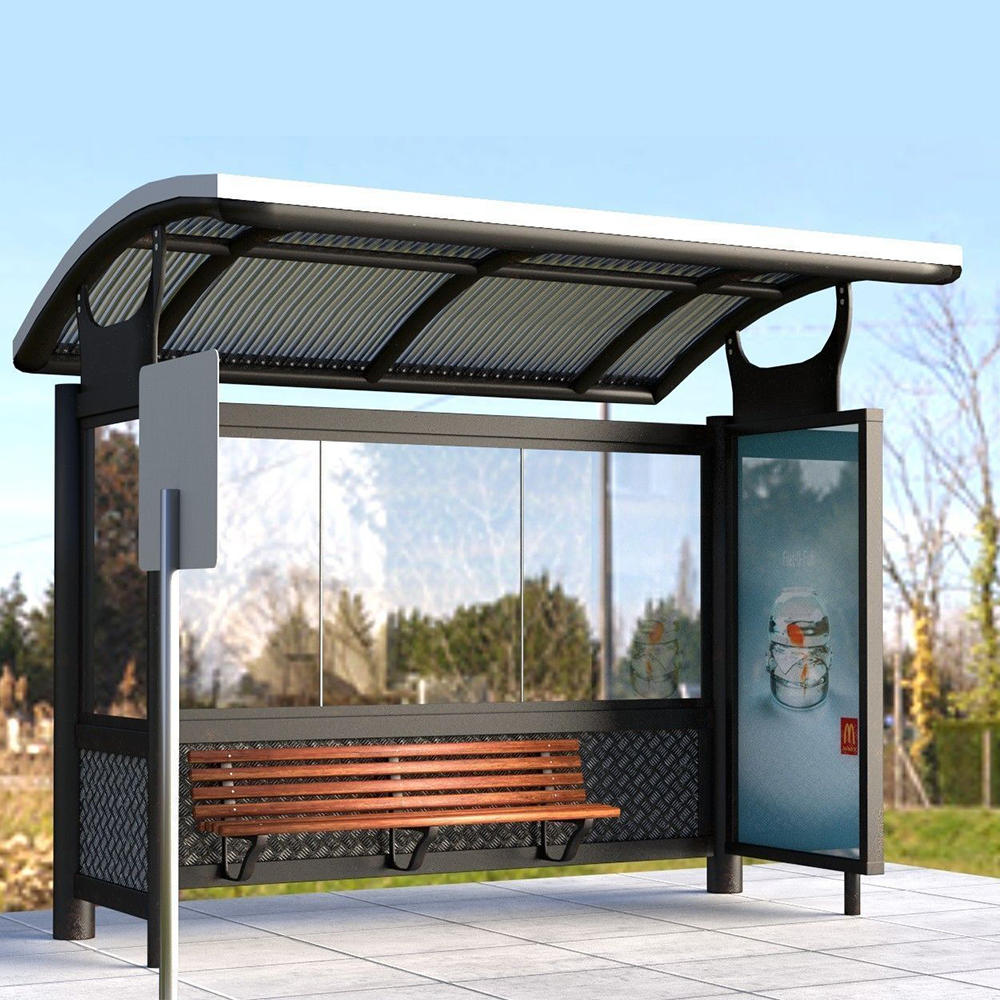 Outdoor Bus Stop Shelters Bus Shelter