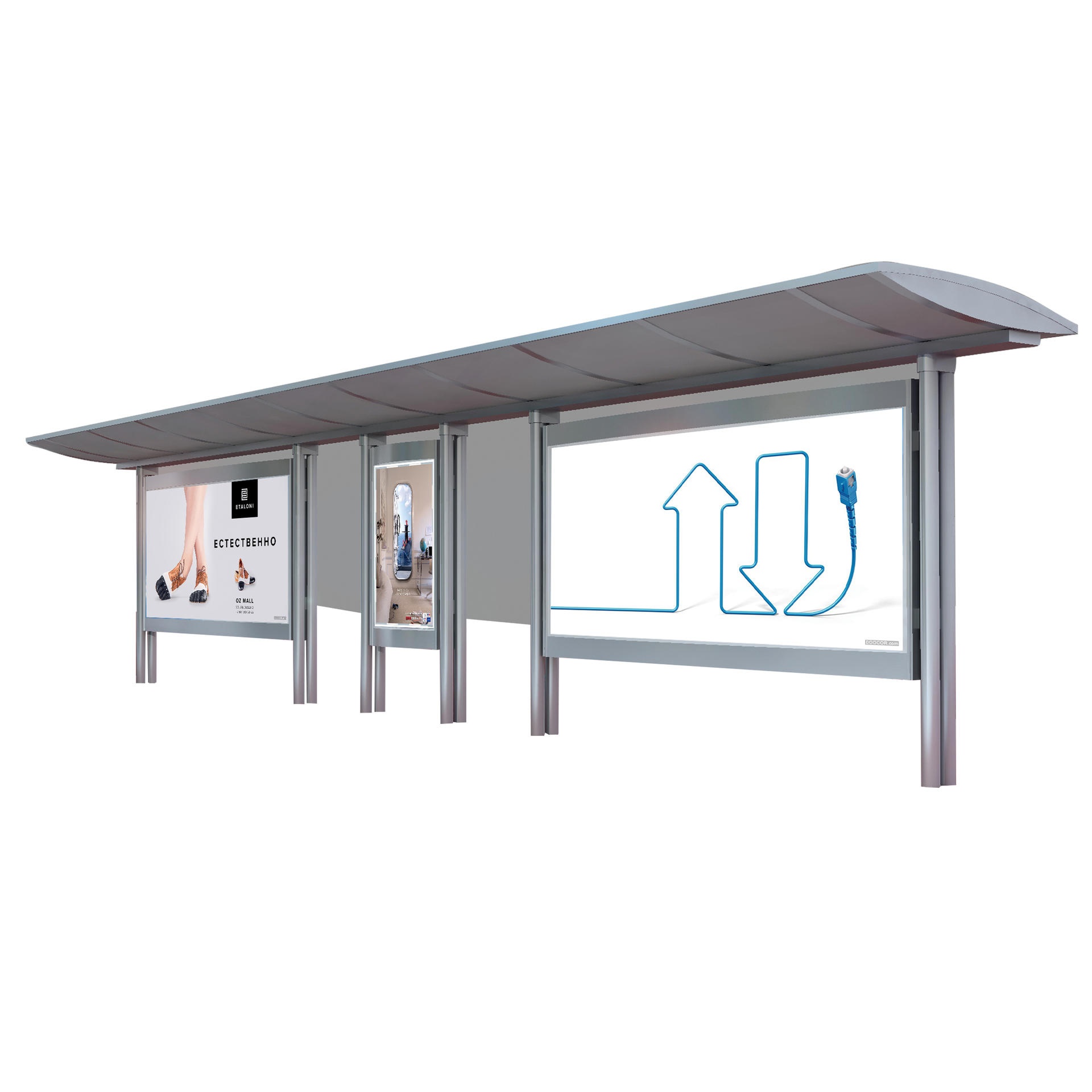 Advertising equipment bus shelter for sale metal bus shelter