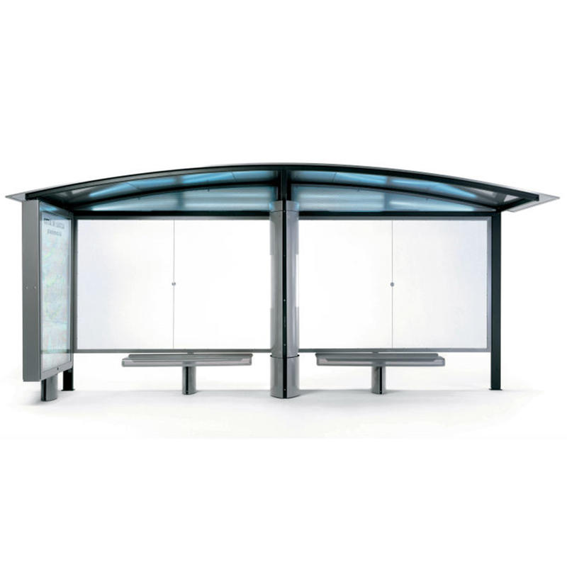 Cheap price outdoor city street bus shelter
