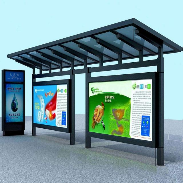 Stainless Steel Bus Shelter High Quality Bus Stop Shelters for Sale