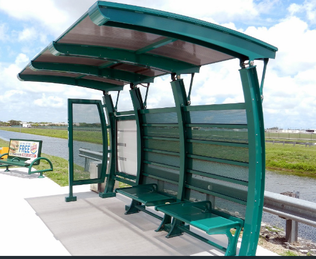 Professional stainless steel bus shelter manufacturer