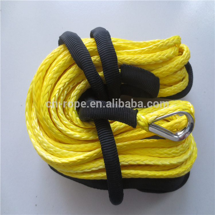 Winch rope,uhmwpe rope for 4X4 ATV and boat trailer