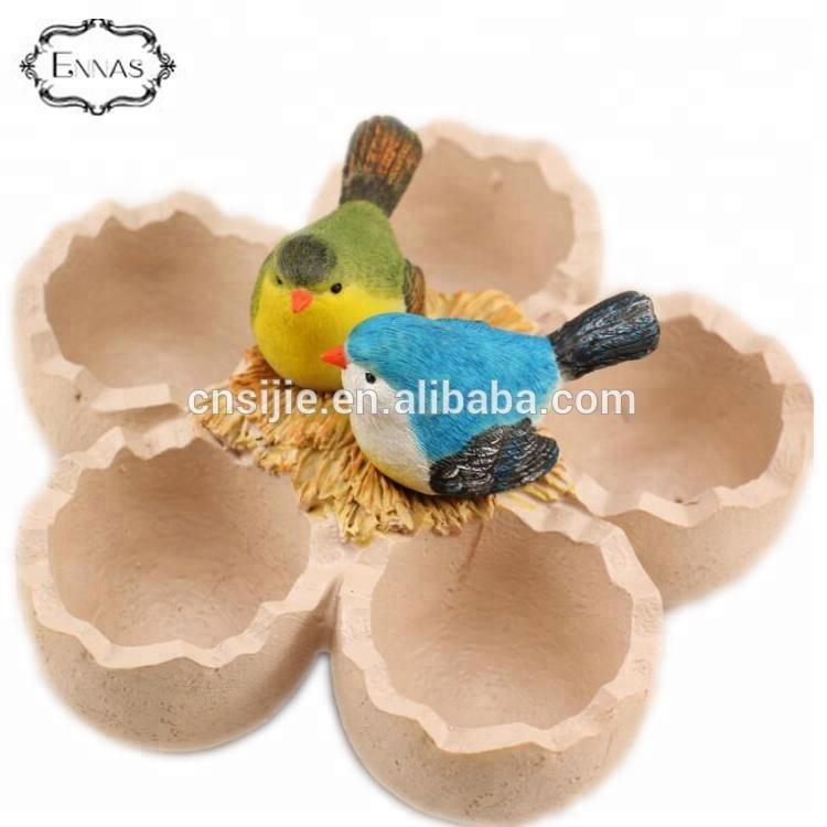 Resin animal garden flower pot for garden decorations