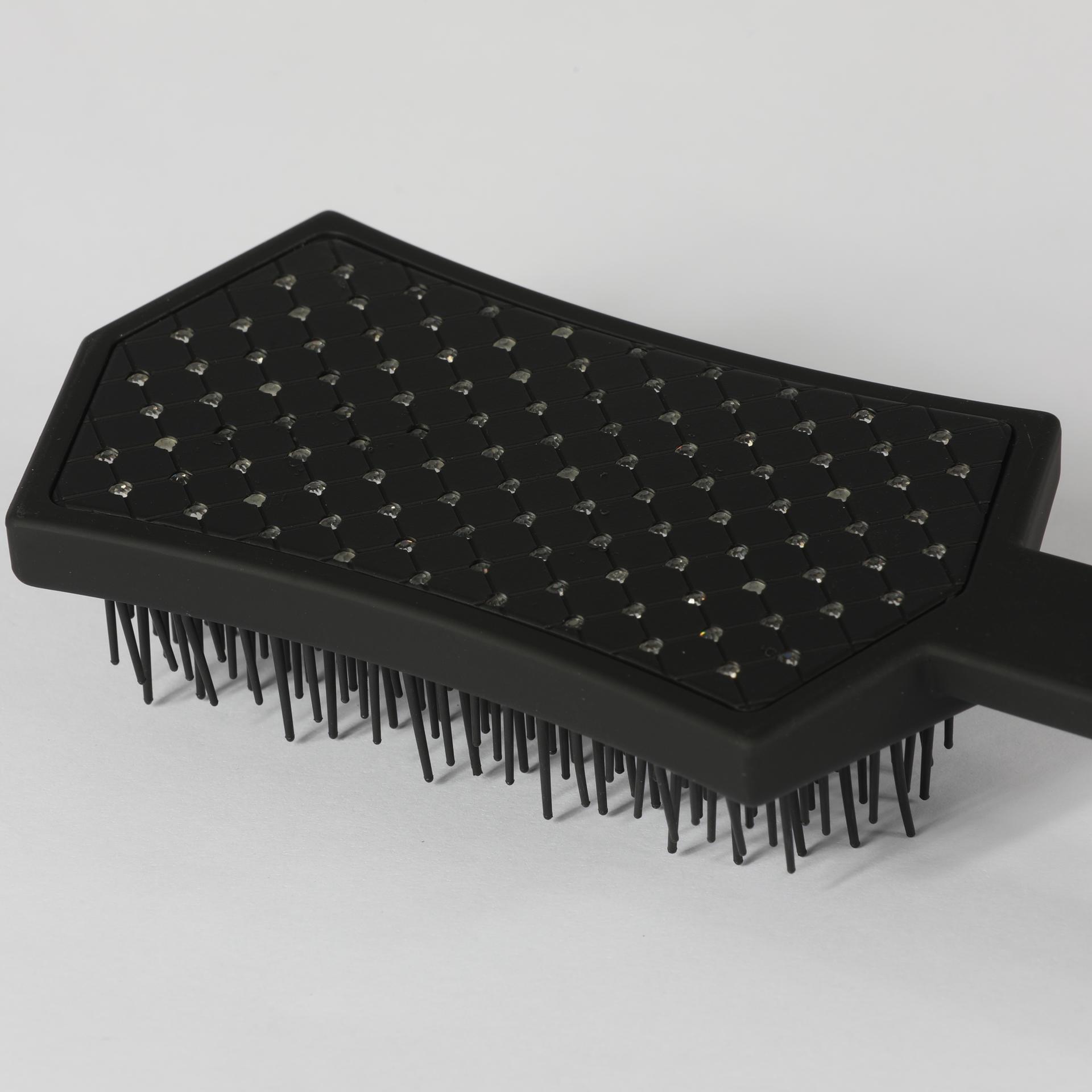 Customizable Colors Scalp Massage Hair Salon Curly Hair Paddle Brush
