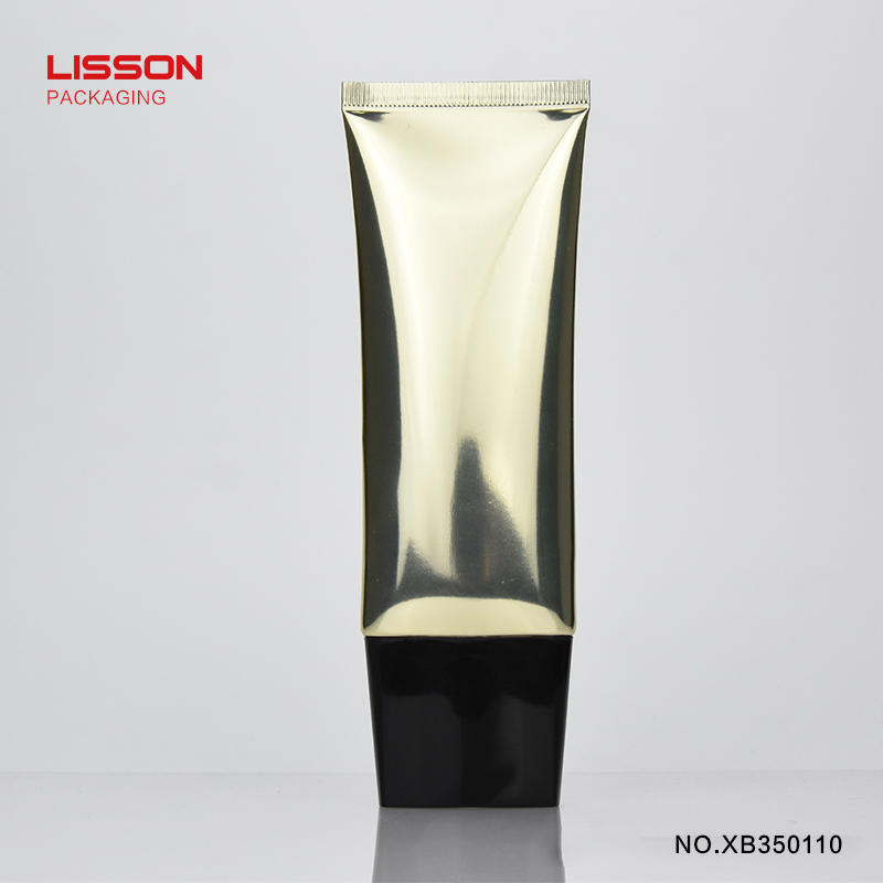 D35 professional manufacturer empty oval shaped plastic packaging tubes/cosmetic tubes packing for makeup sets