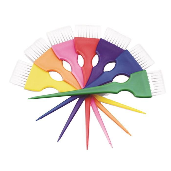 OEM Professional Salon Hair Coloring Brush Quality Plastic Hair Dye Brush Tinting Brush