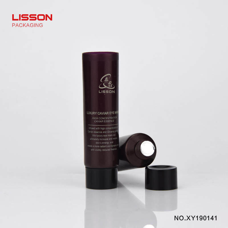 D19 5ml packaging travelling size plastic skincare packaging tube for face lotion