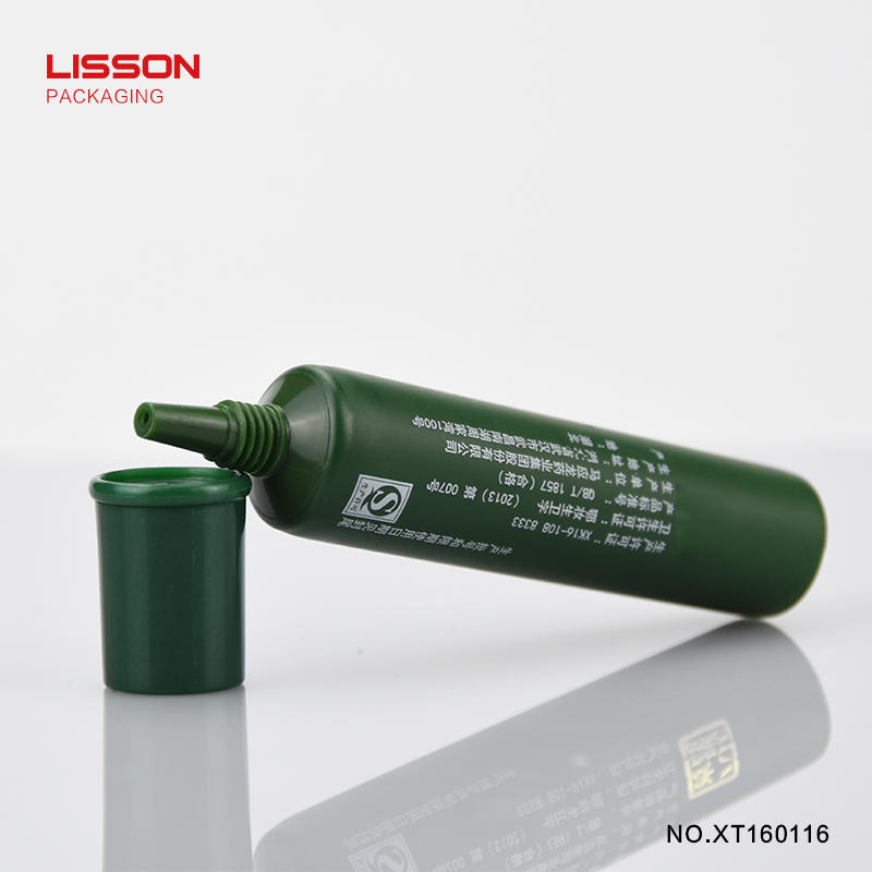 PE D16 long nozzle head tube,needle nose plastic tube for eye essence