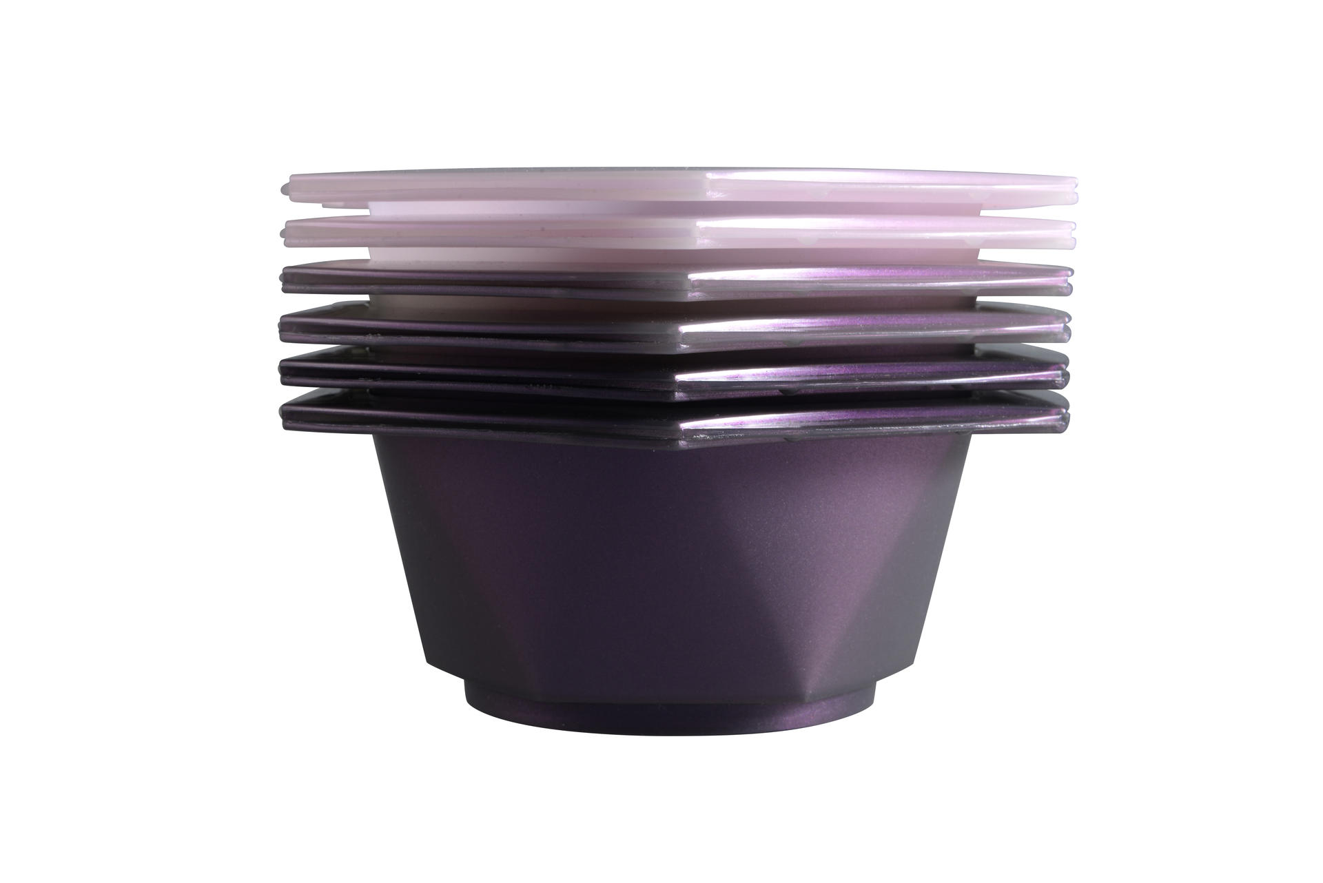Three colors hair tint bowls color bowls for hair color