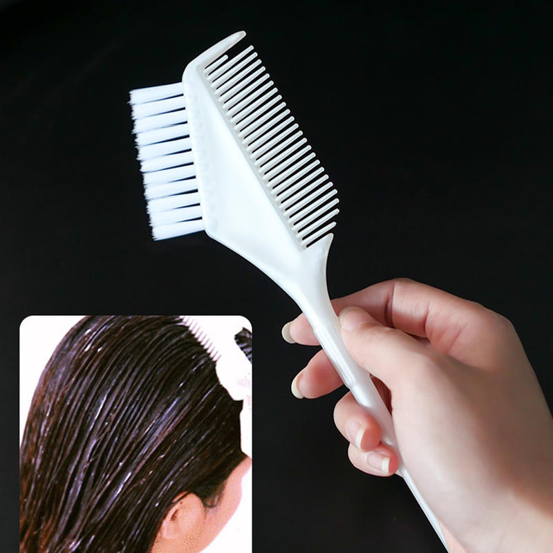 Custom Logo Salon High Quality 360 degree Hair Dyeing BrushHair Color Comb Tools