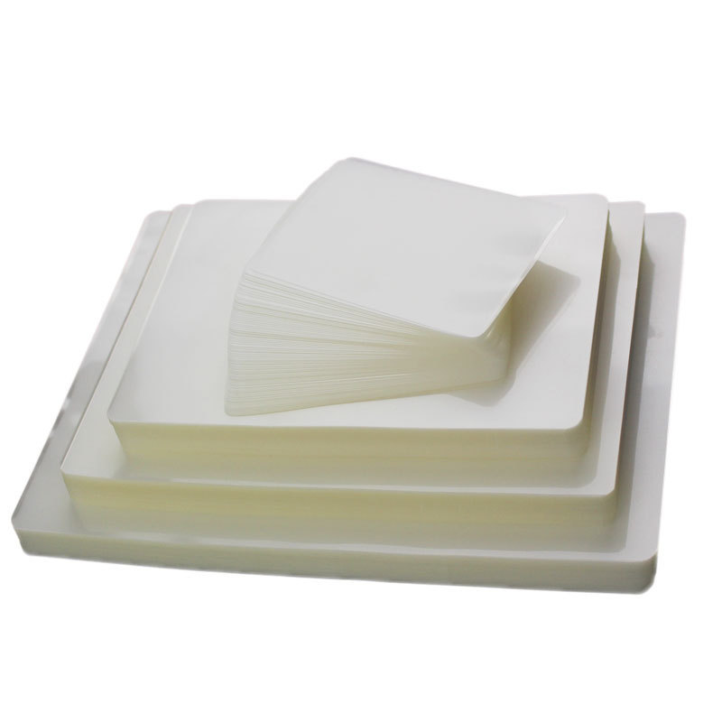 PET hot transparent laminating pouch film a4 for laminator