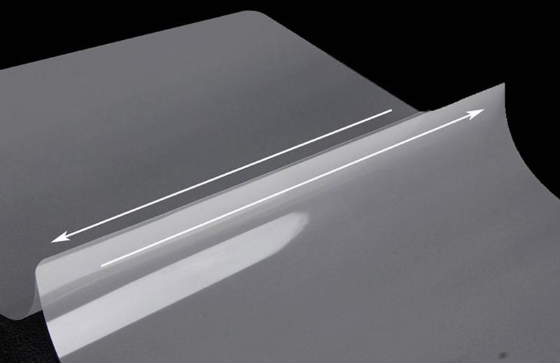 Transparent pet laminating film laminating pouches film for picture or ID car