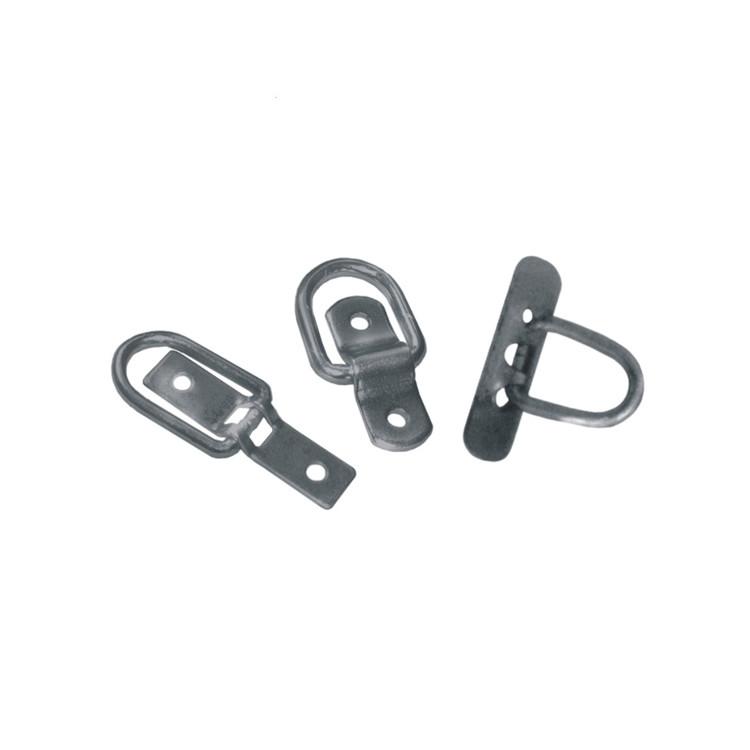 steel truck rope eyebolt&straight hooks for trailer