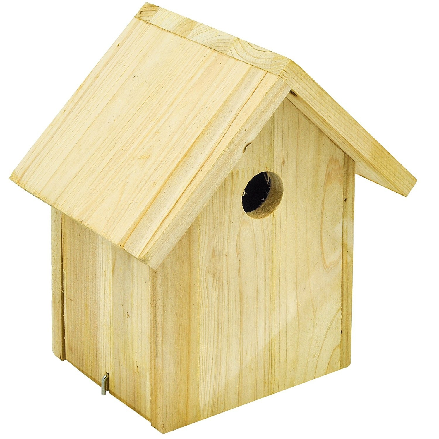 Custom made exquisite quality chinese style wooden bird house, DIY unfinished wooden bird house decor