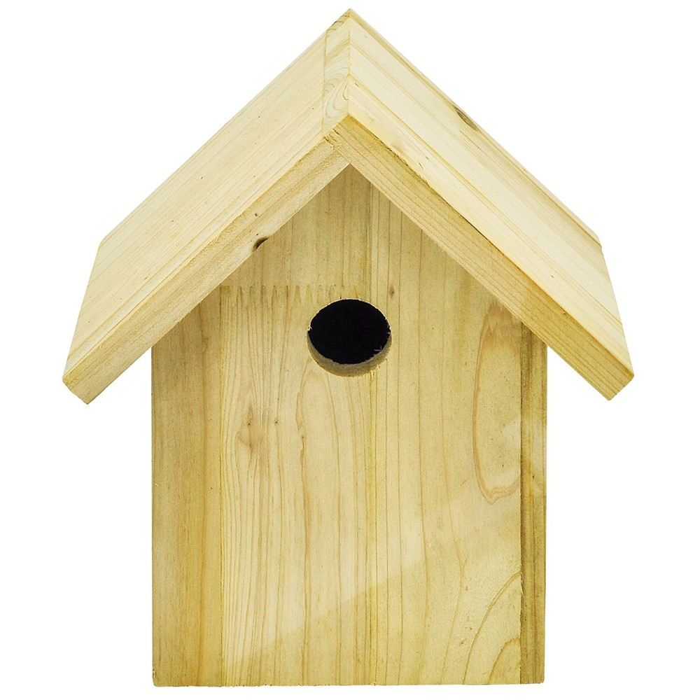 Custom nade exquisite chinese wooden bird house,DIY unfinished wooden bird houses decor outdoor