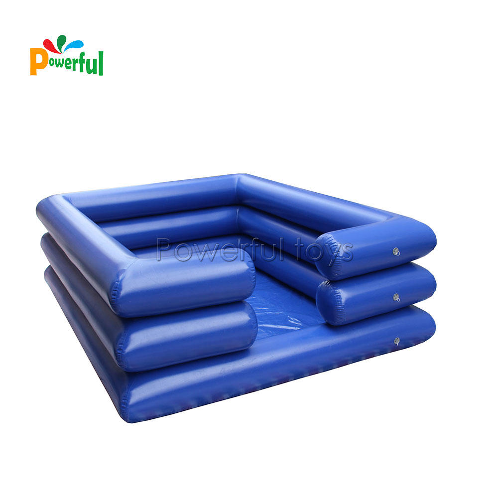 StrongestPVC inflatable water swimming pool customized foam ball cubes