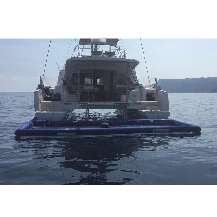 custom inflatable floating sea pool for water equipment