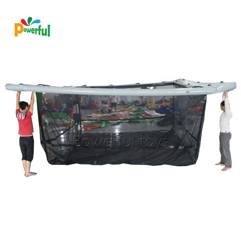 2019 Hot selling inflatable yacht floating swimming pool
