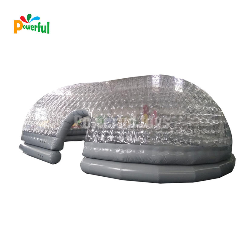 Transparent Waterproof PVC Swimming Pool Dome Cover Inflatable Swimming Pool Cover Bubble Tent Covers
