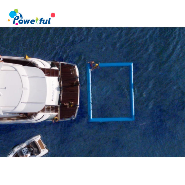2020 Hot Lagoon Swim Pool Inflatable Sea Lake Pool With Net