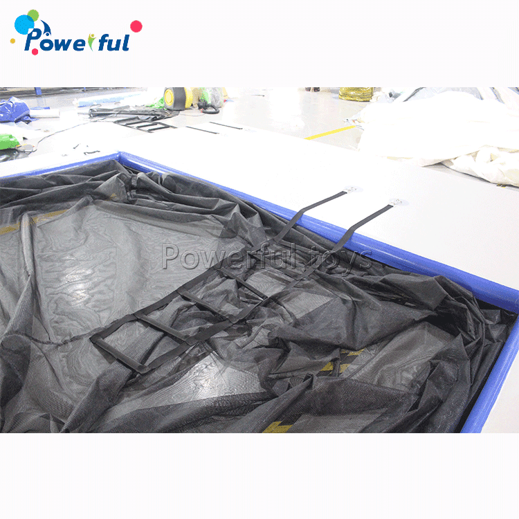 floating inflatable swimmingpool enclosure inflatable ocean pool for luxuryyacht