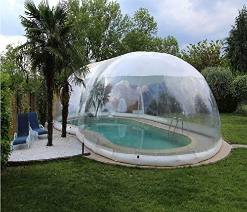 Inflatable Above Ground Swimming Pool Solar Dome Cover Tent