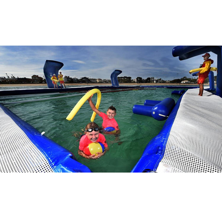 Inflatable floatingswimming sea pool for water holiday