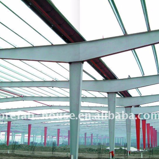 Long span steel structural building LD-S-005