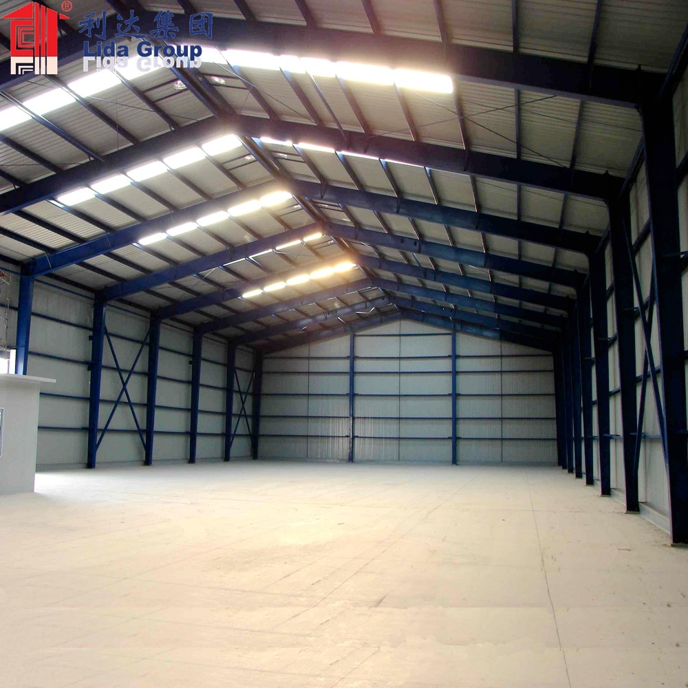 Prefabricated Poultry farm control factory Shed