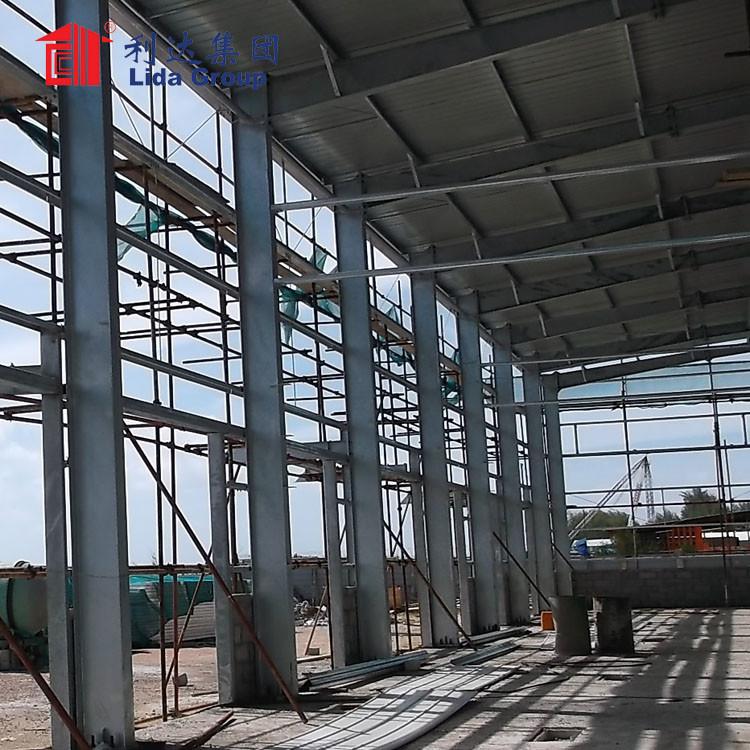 Prefab steel structure industrial park factory building