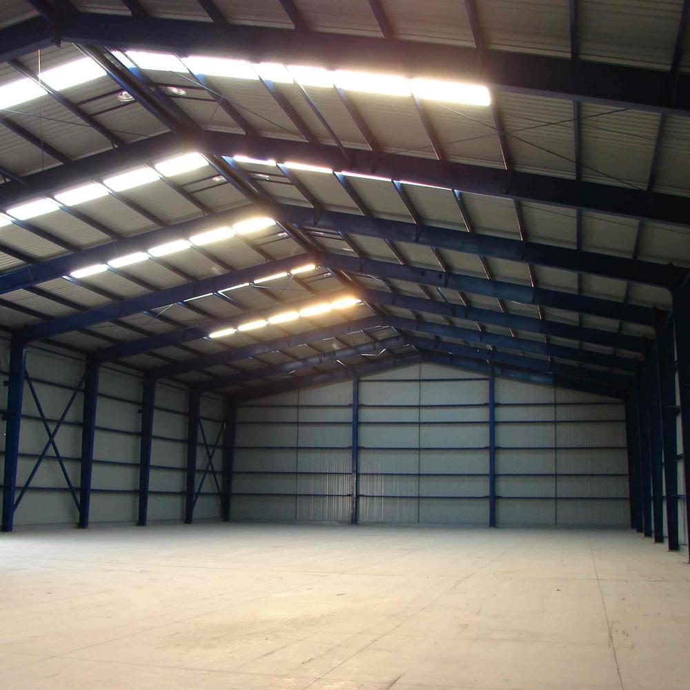Prefab Structure Steel Aircraft hangar
