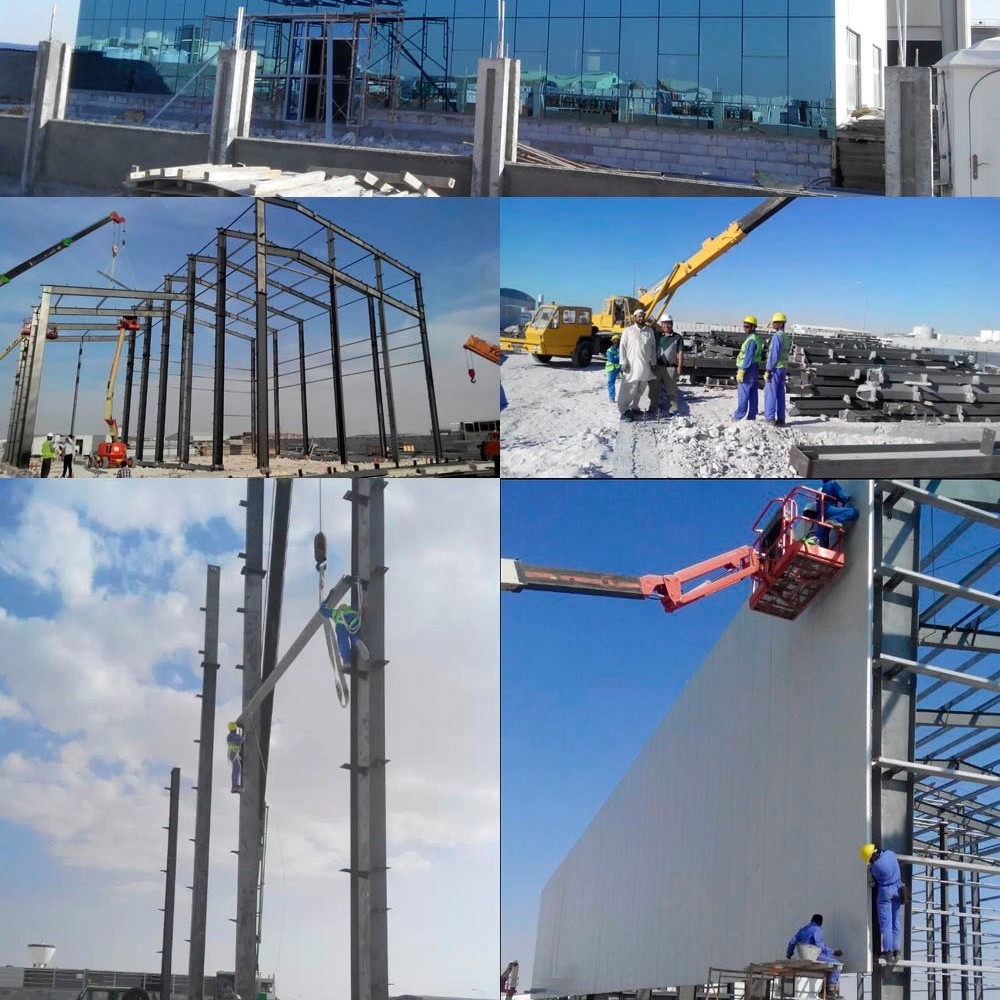 Steel structure building prefabricated small warehouse price