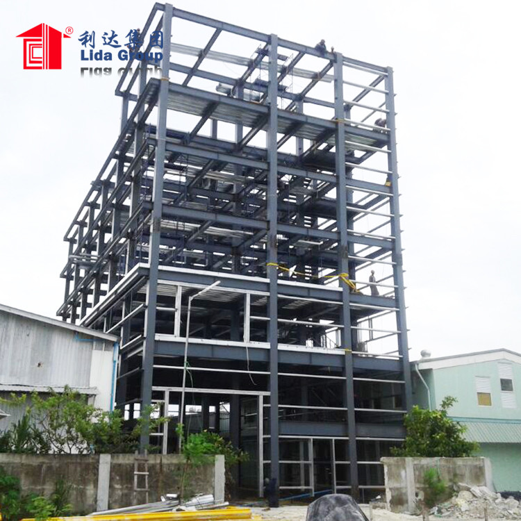 Steel Structure Multi Story Residential Building Construction